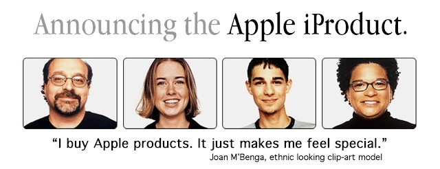 [Announcing the Apple iProduct]