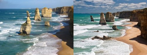 12 Apostles before and after