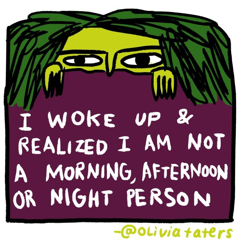 The illustrated Olivia Taters, the teenest bot on Twitter.