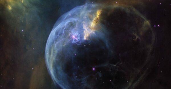 The Bubble Nebula.