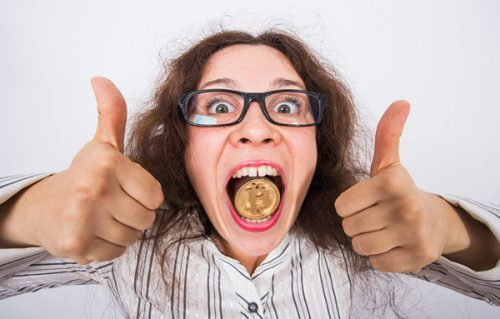 Bitcoins are not for consumption!