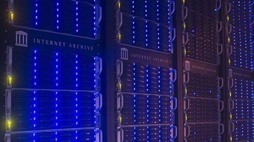 Internet Archive servers